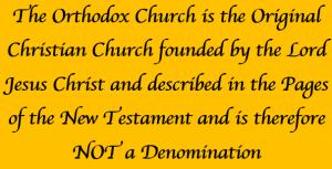 Orthodox non denominational