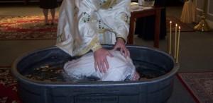 Orthodox Adult Baptism